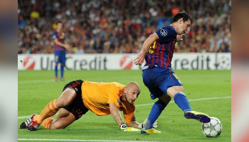 Messi's Match Shirt, Barcelona-Milan 2012