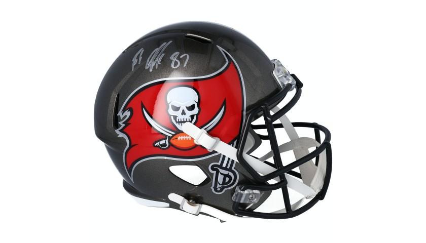 Rob Gronkowski Hand Signed Bucs Full-Size Helmet