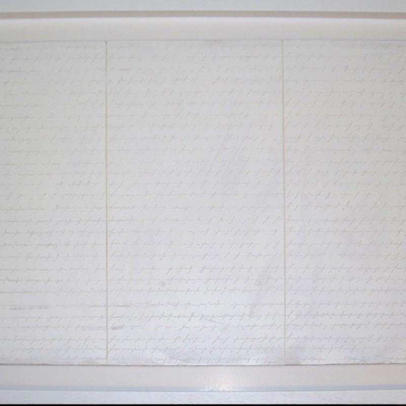 """Scrittura Bianca in Tre Parti"" by Alfredo Rapetti"