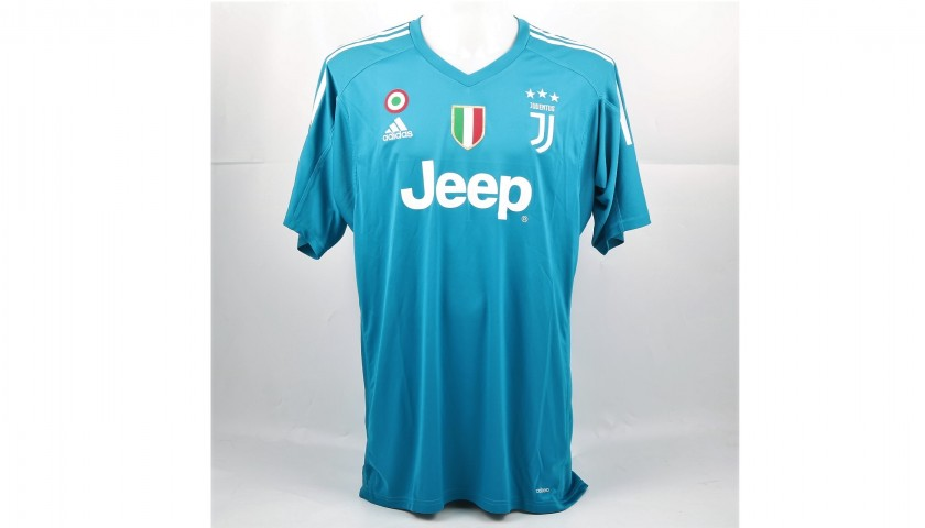purchase cheap ddf0b 78b4e Signed Official Buffon Juventus Shirt, 2017/18 - CharityStars