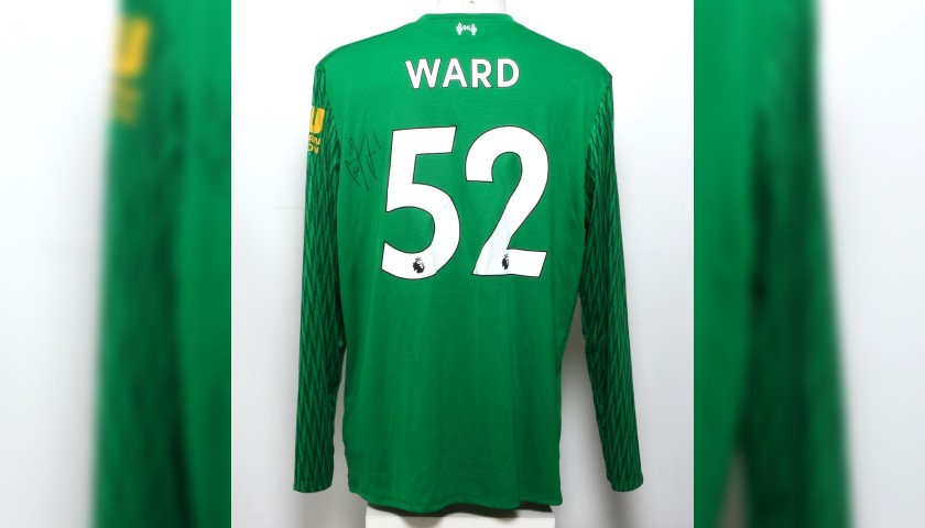 "03f371e2d Ward Signed Limited Edition ""Seeing is Believing"" 2017 18 Liverpool FC Shirt"