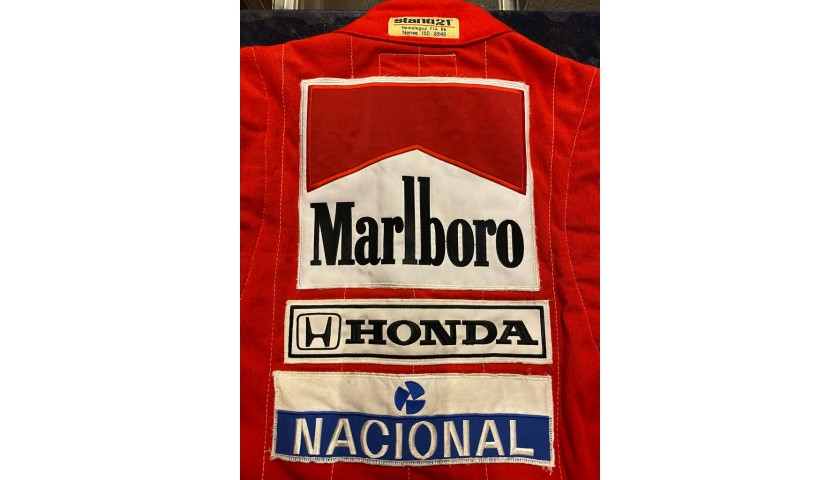 Ayrton Senna Race Suit, GP 1988