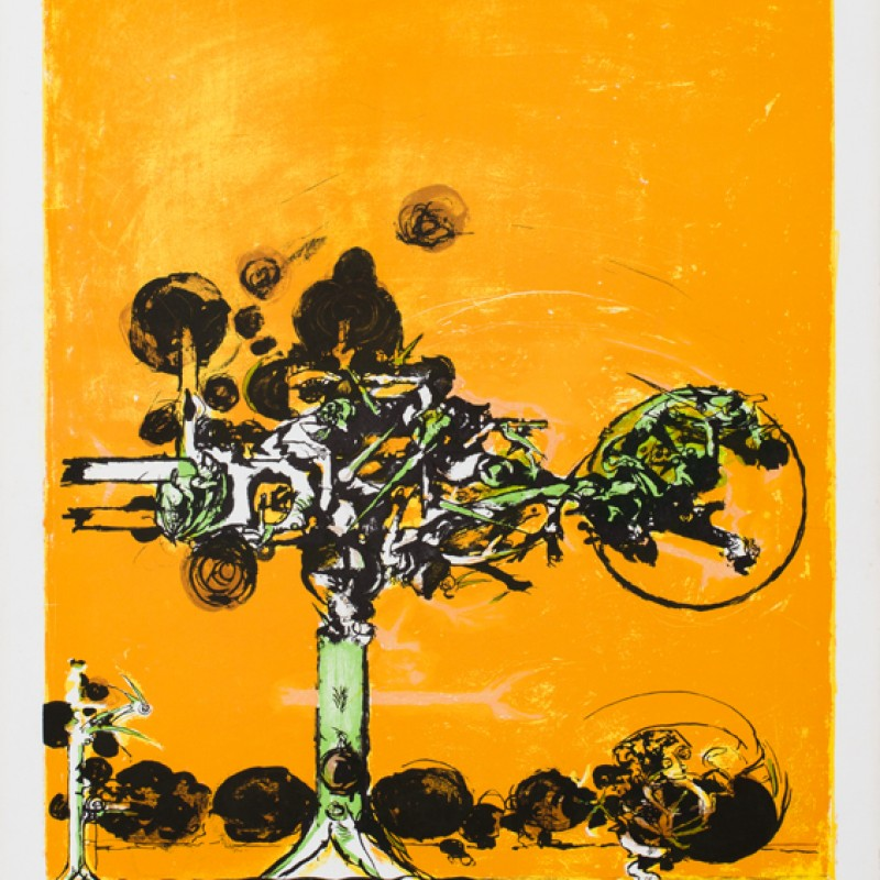 """Untitled"" by Graham Sutherland"
