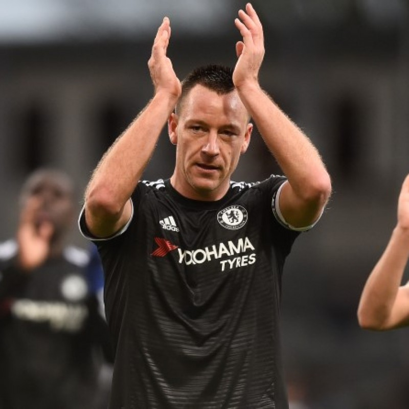 Terry's Chelsea Match-Issue/Worn Shirt, 2015/16 Season