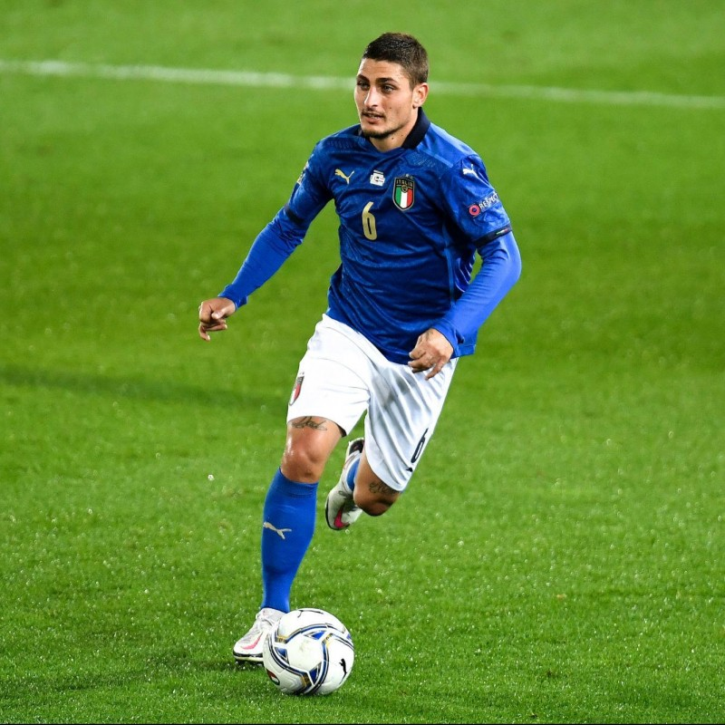 Verratti's Match Shirt, Italy-Northern Ireland 2021