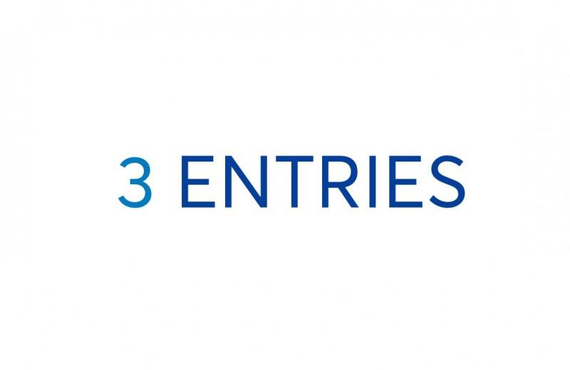 Three Entries
