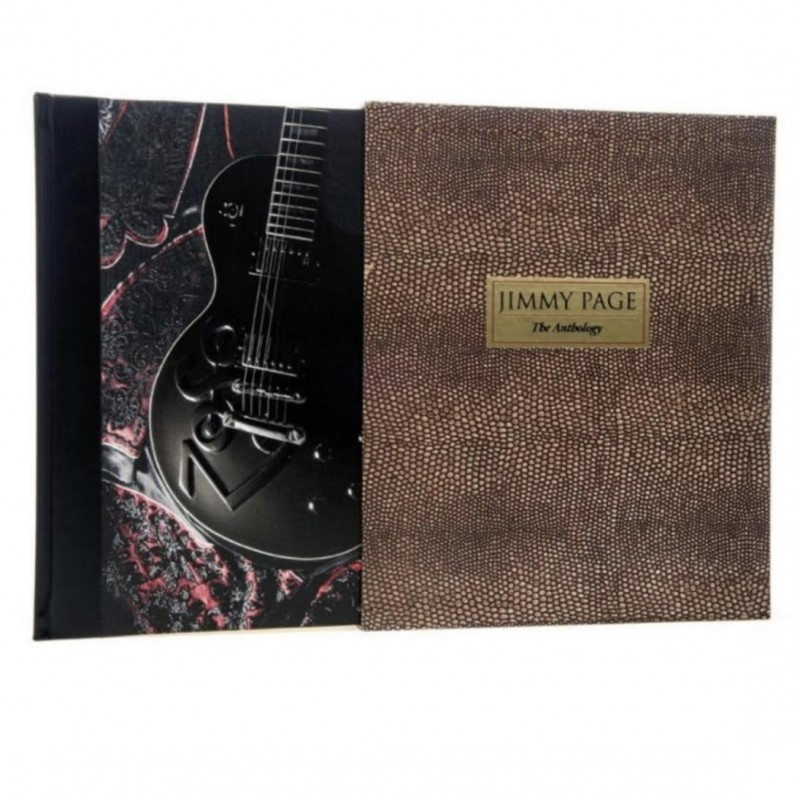 Jimmy Page Genesis Signed Book