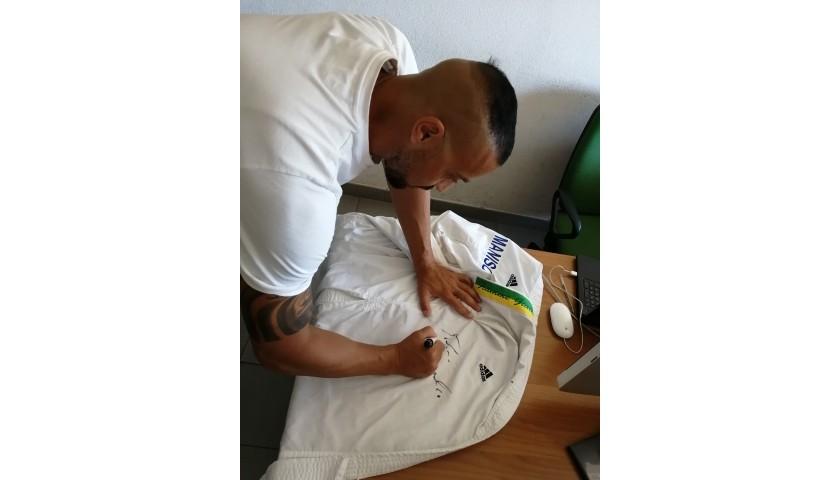 Stefano Maniscalco's Signed Karategi