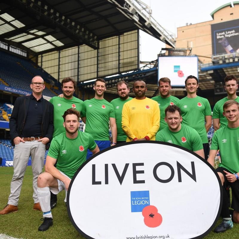 Play at Chelsea FC's Stamford Bridge