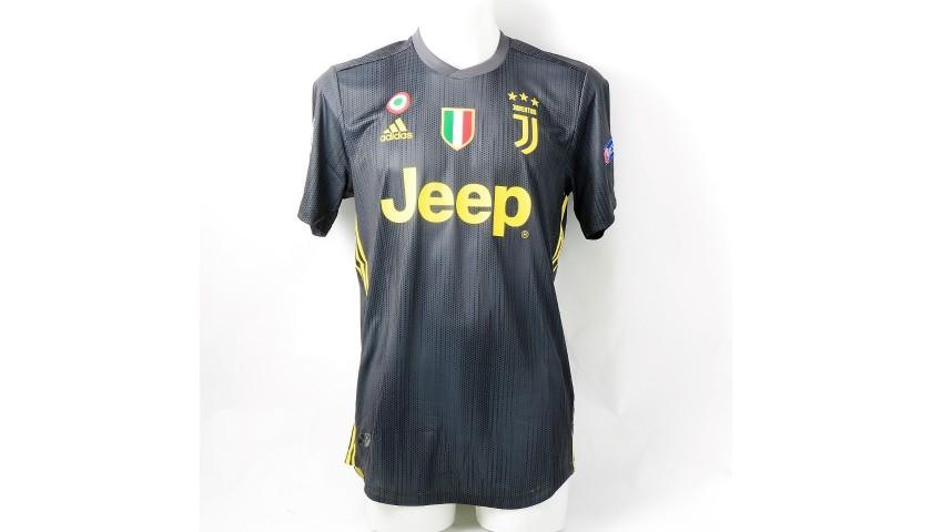 newest 27536 c2d3b Ronaldo's Authentic Juventus 2018/19 Signed Shirt - CharityStars
