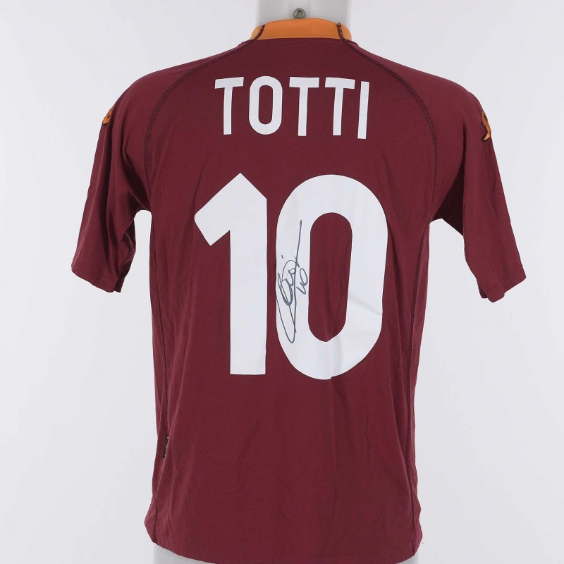 Francesco Totti's 2000/01 Signed Shirt
