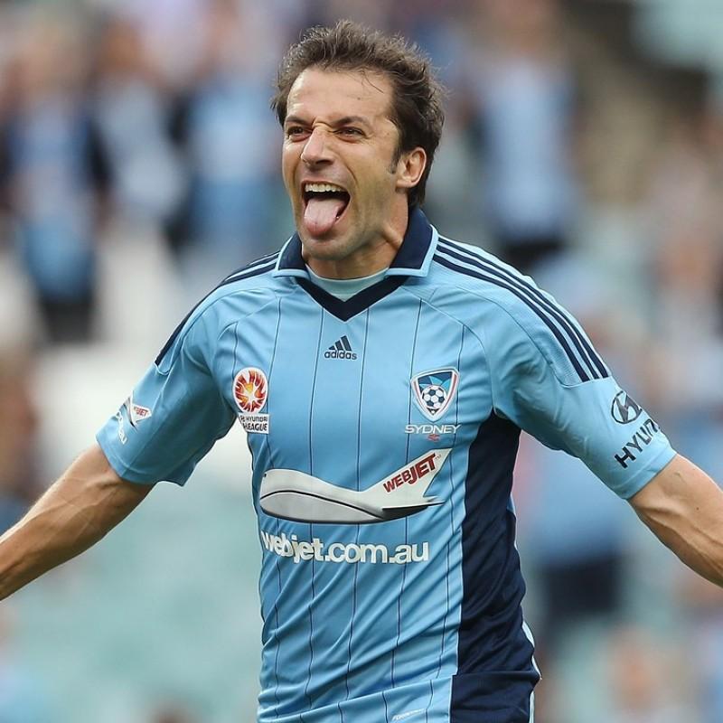 Del Piero's Sydney Signed Match Shirt, 2012/13