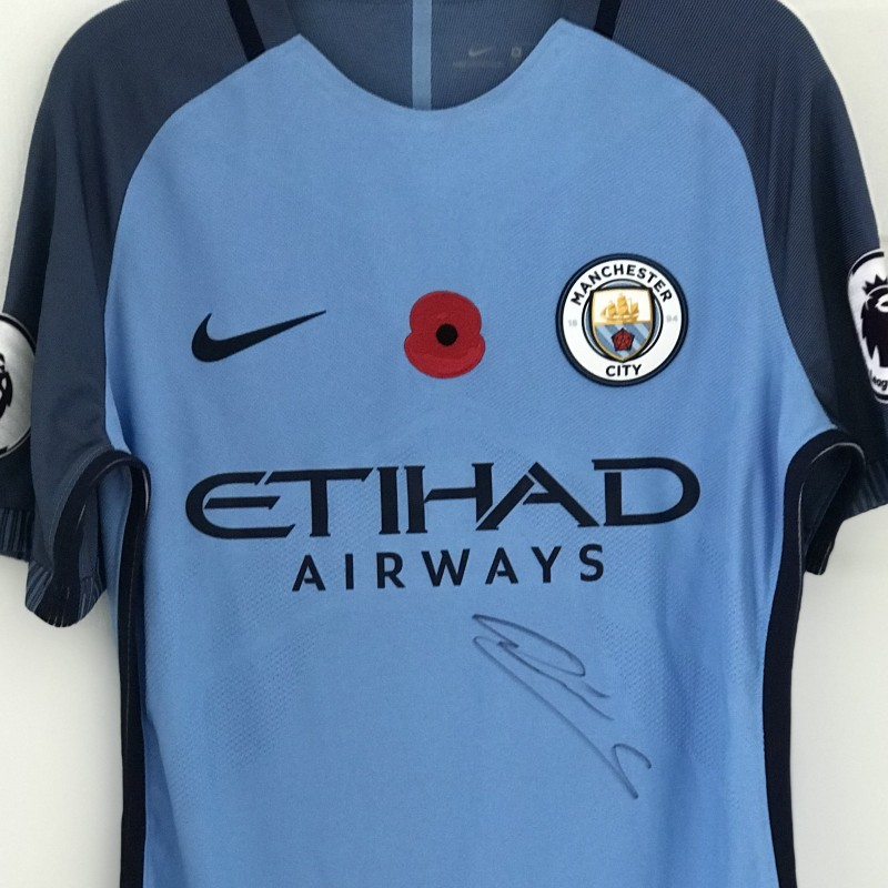 Leroy Sané 2016 Signed Poppy Shirt