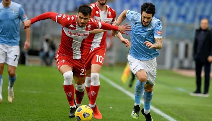 Lazio-Fiorentina 2021 Match Pennant
