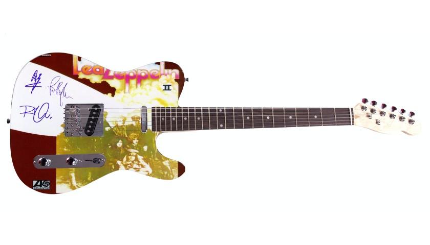 """""""Led Zeppelin"""" Custom Graphics Guitar"""