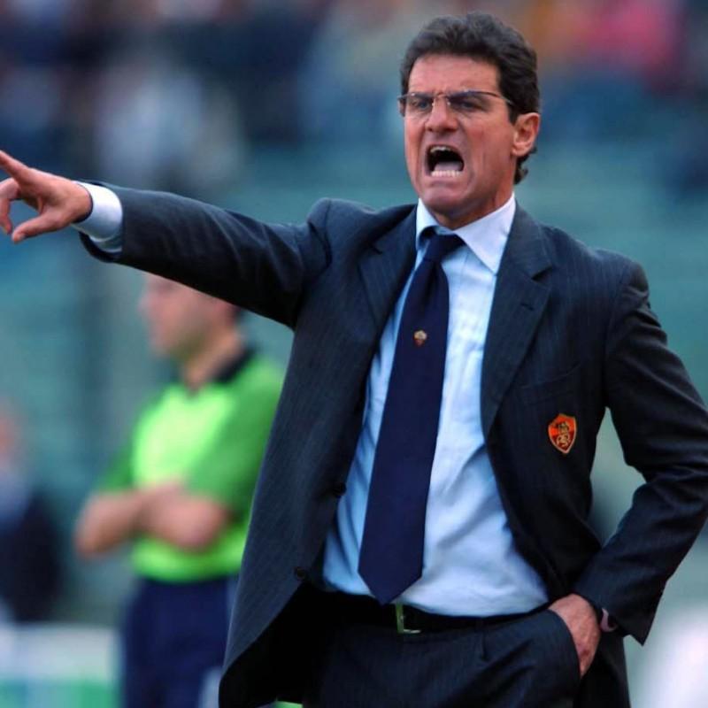Roma Training Jacket Worn by Fabio Capello