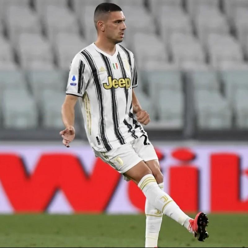 Demiral's Match Shirt, Juventus-Roma 2020