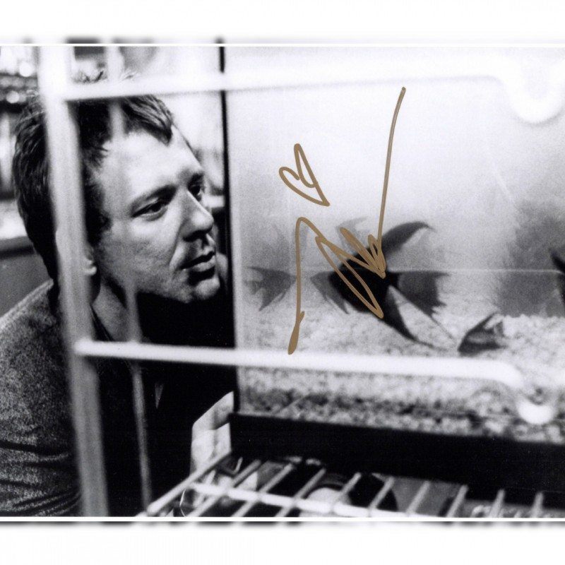 """""""Rumble Fish"""" - Photograph signed by Mickey Rourke"""