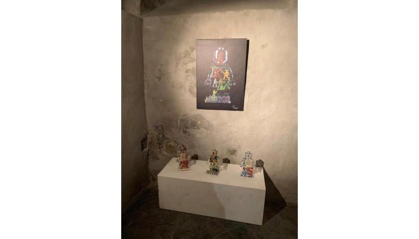 """Alter Ego Pasta 90"" - Print by Alessandro Piano"
