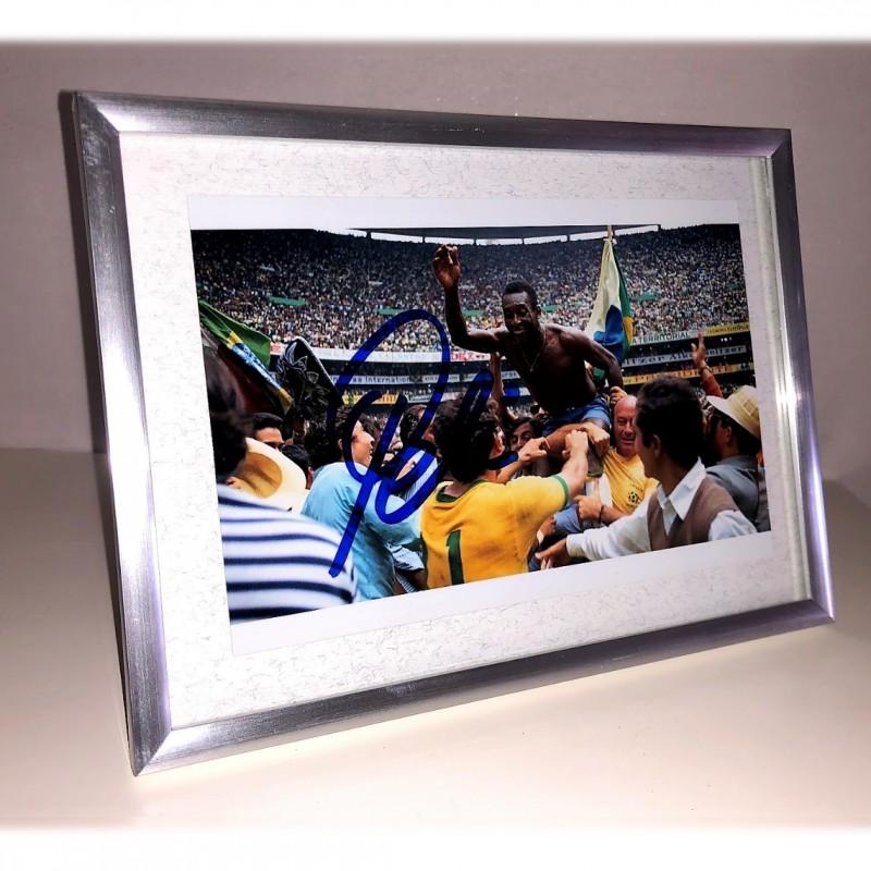 Pele Signed Photograph