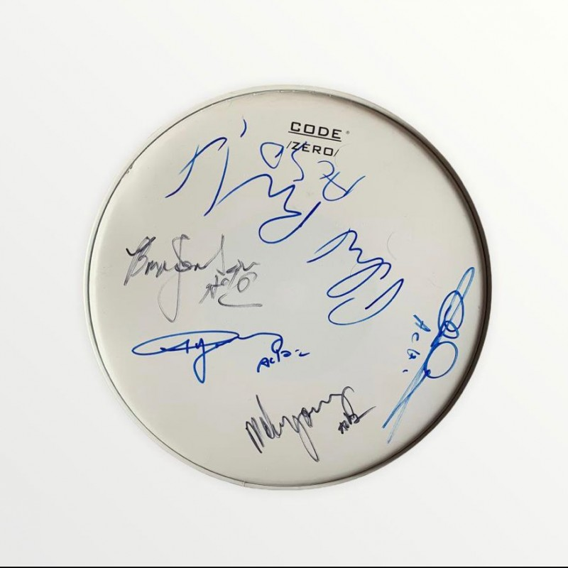 AC/DC Signed Drumskin