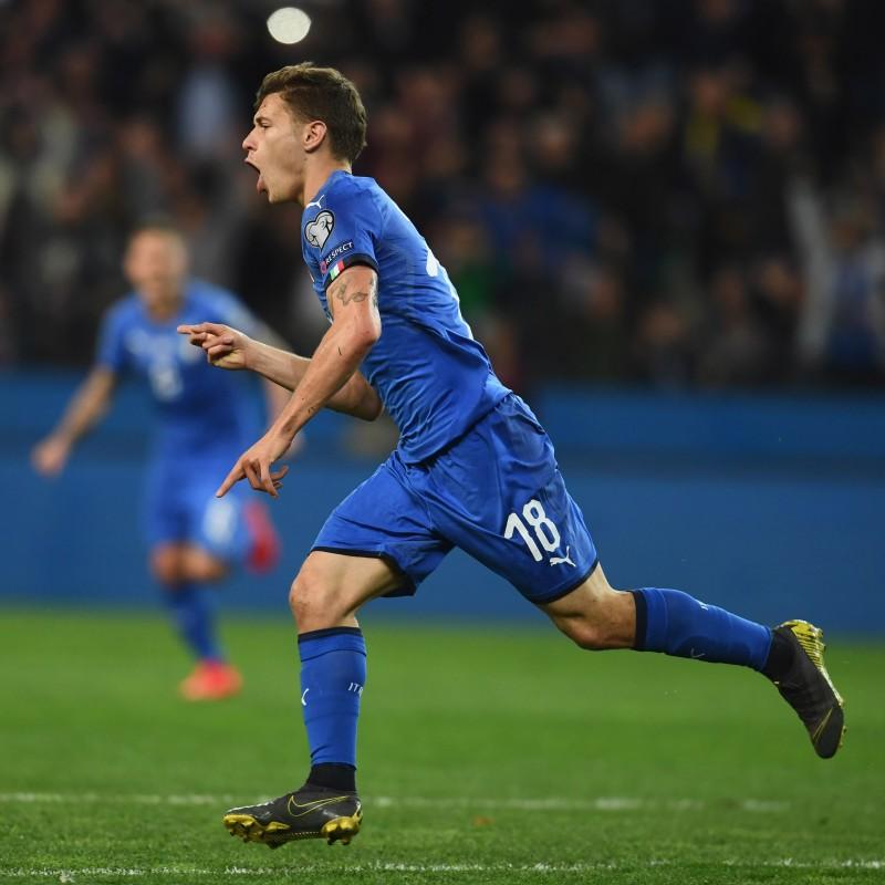 Barella's Match Shirt, Italy-Finland 2019