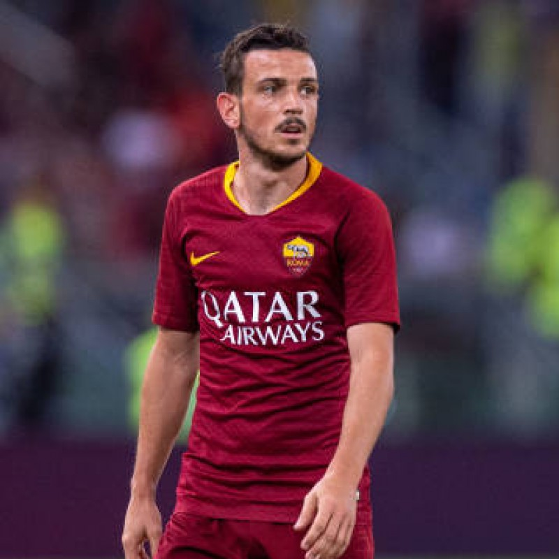 Florenzi's Official Roma Signed Shirt, 2018/19