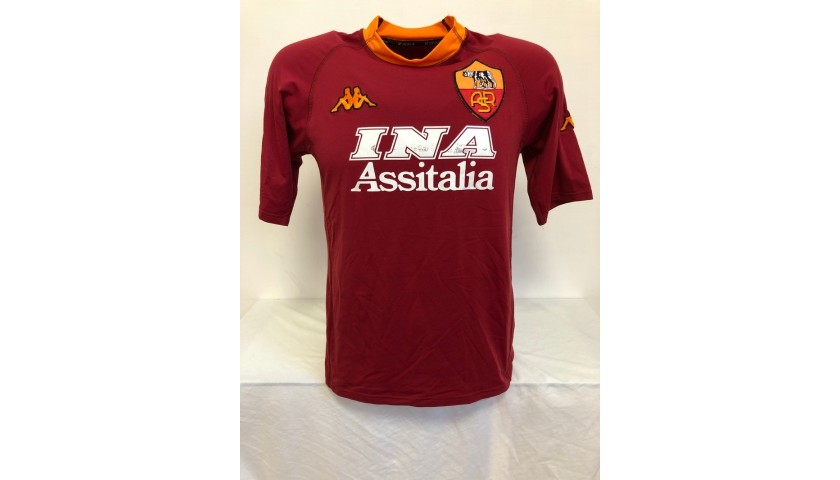 Official Roma Scudetto Shirt, 2000/01 - Signed by Totti