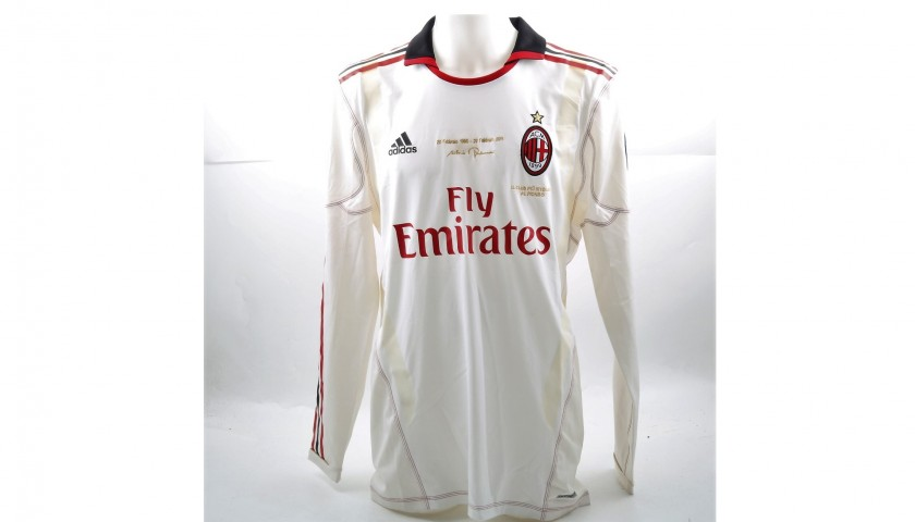 Cassano's Match-Issued Chievo-Milan Shirt, Berlusconi's 25th Anniversary