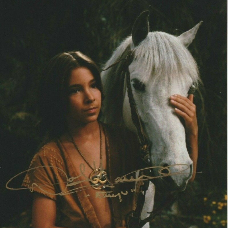"""The NeverEnding Story"" Noah Hathaway Signed Photograph"