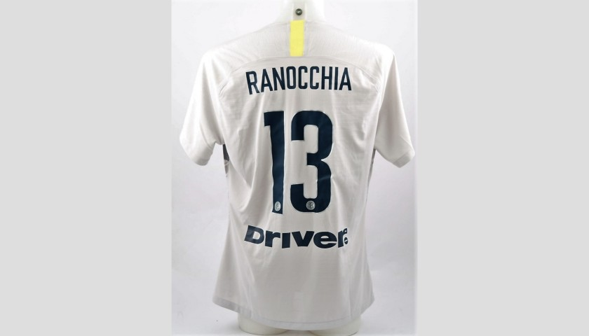 Ranocchia's Inter Match-Worn Shirt, Serie A 2018/19