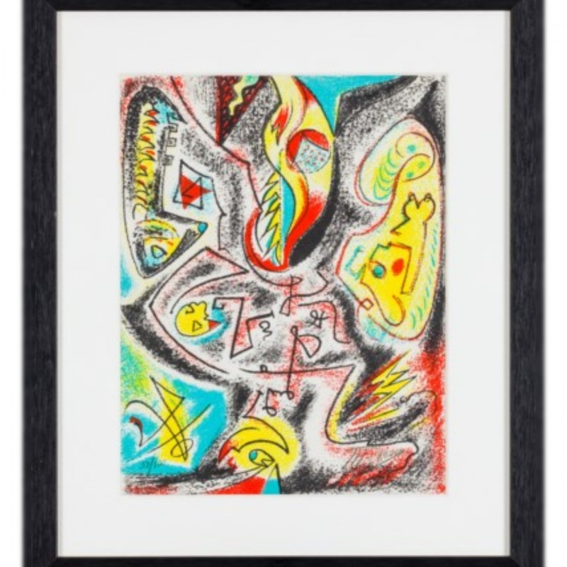 """Untitled"" by André Masson"