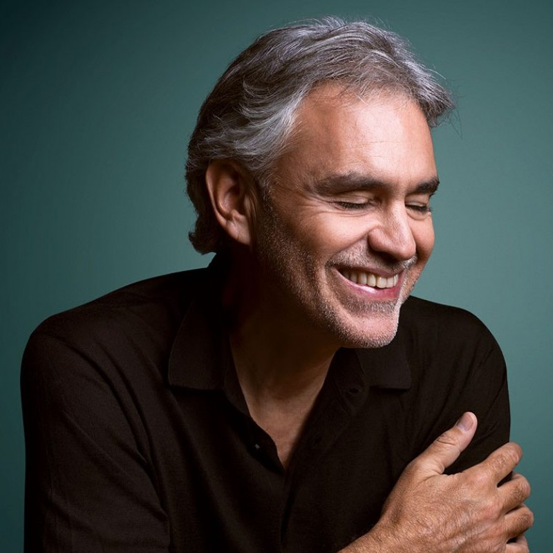 """Sì"" Album Signed by Andrea Bocelli"