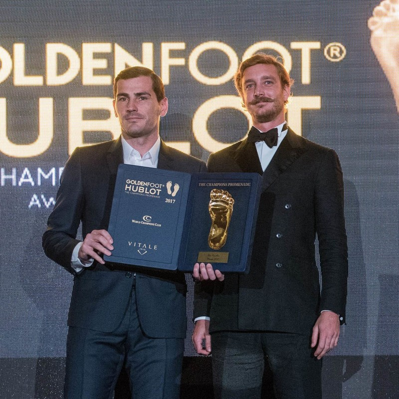Attend GoldenFoot 2021 - Gala Dinner + Fairmont Hotel Stay for Two