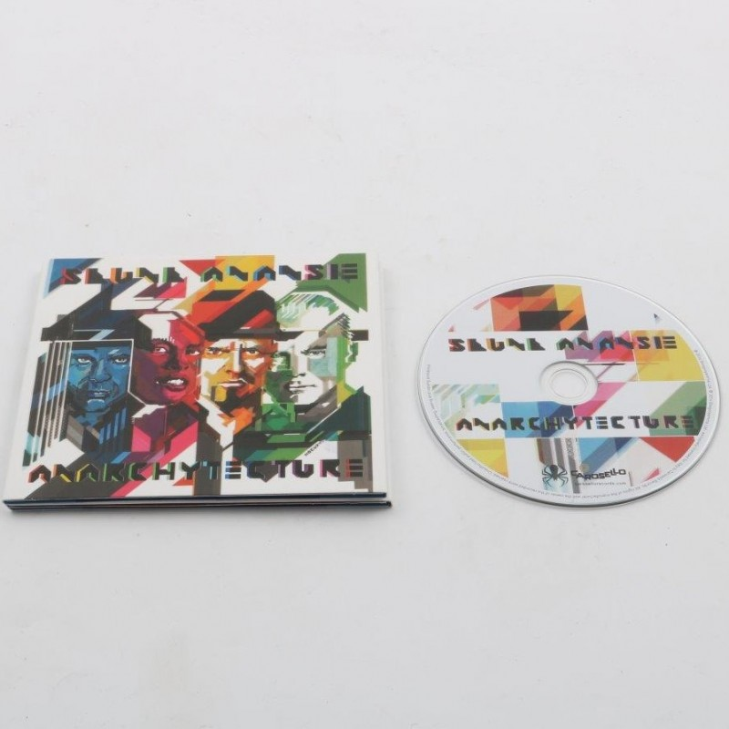 """Anarchytecture"" Skunk Anansie new album - signed"