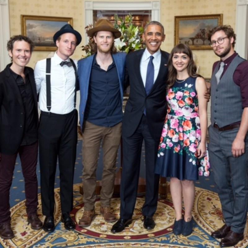 Borsalino Fedora Hat Worn by Jeremiah Fraites at the White House