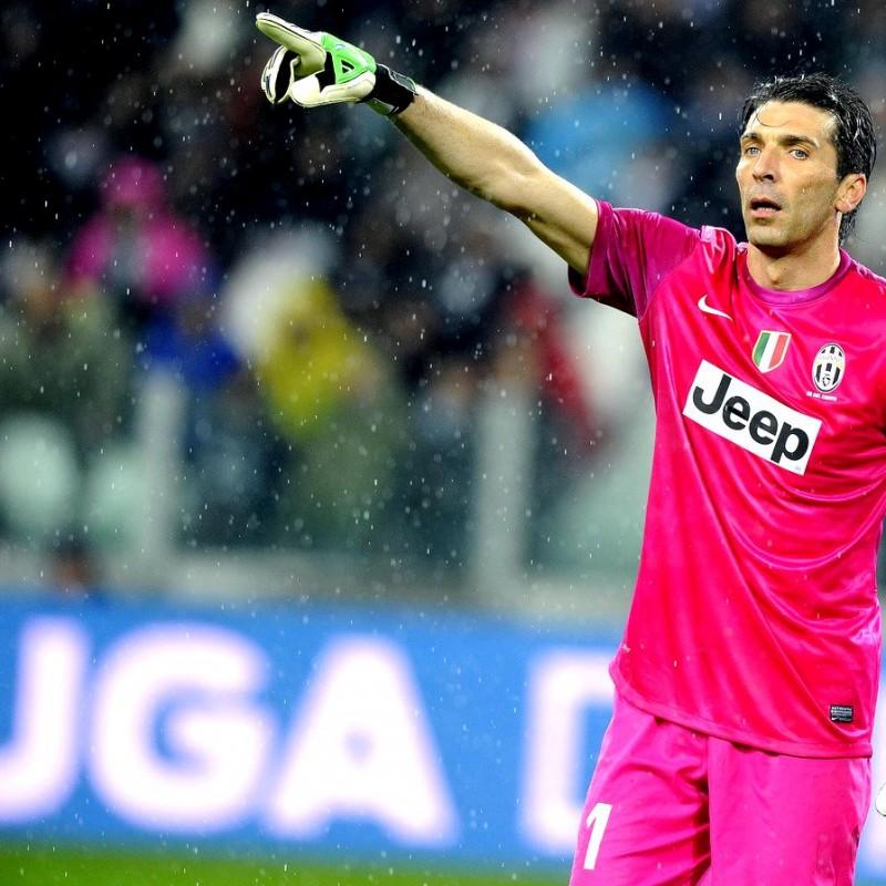 Gianluigi Buffon Issued/Worn Armband, Champions League 2012/13