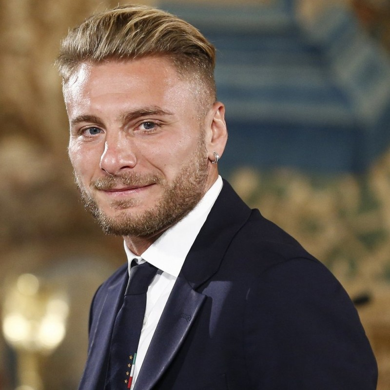 Italian National Football Team Trench Coat Worn by Ciro Immobile