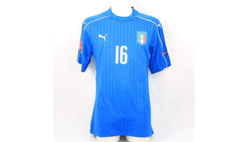 De Rossi's Match-Issue/Worn Kit, Euro 2016