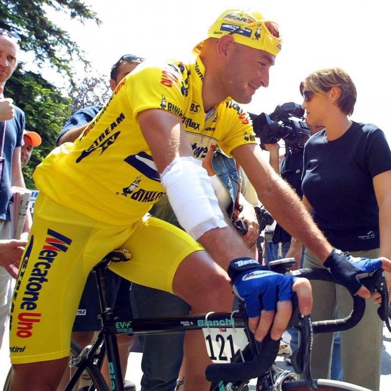 Pantani's Signed Race-Worn Shirt, 2001 Giro d'Italia