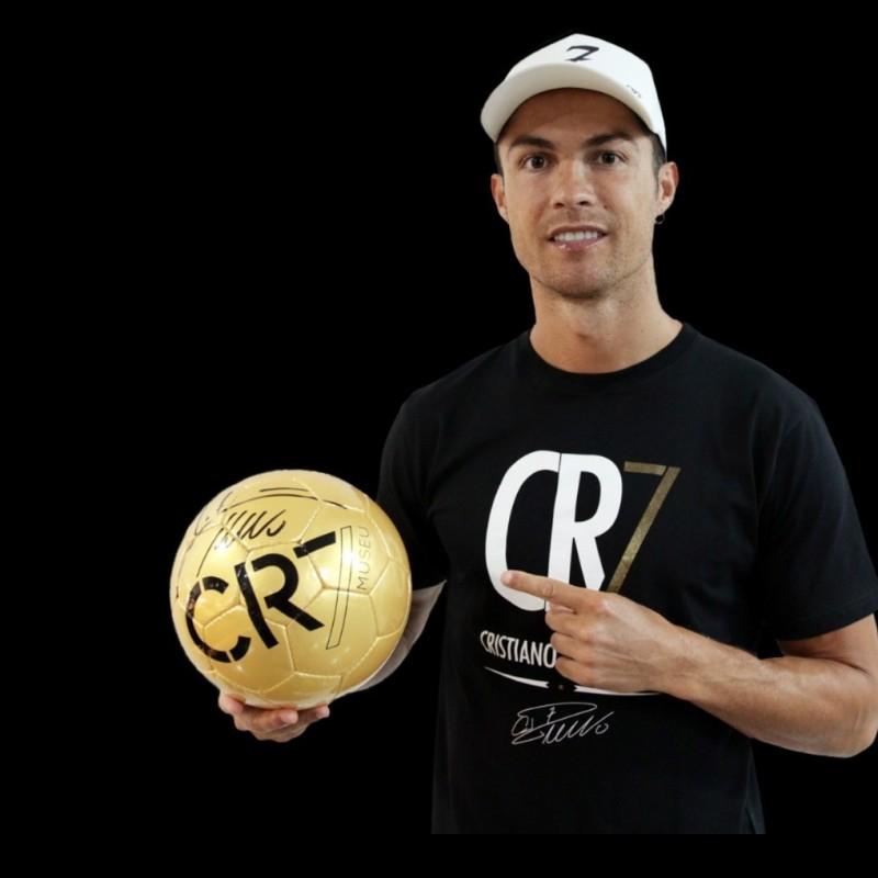 CR7 Museu Football - Signed by Cristiano Ronaldo