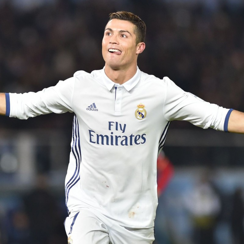 Ronaldo's Real Madrid Match-Issue Shirt, Club World Cup Final 2016