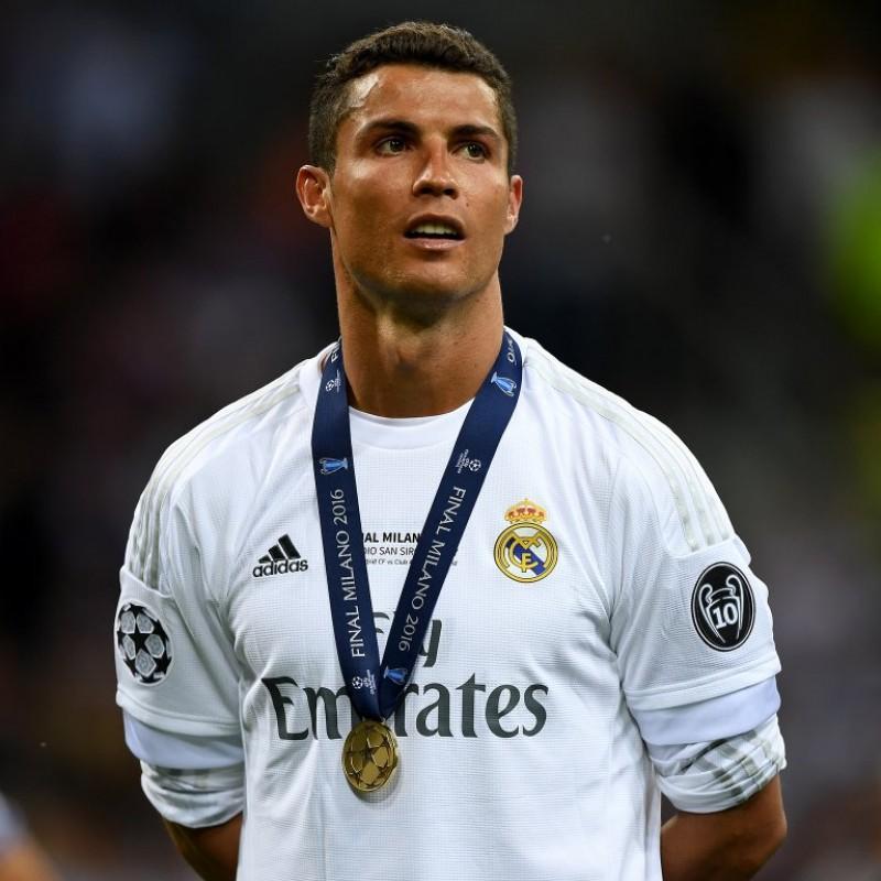 Maglia Ronaldo Real Madrid, preparata Finale Milano 2016