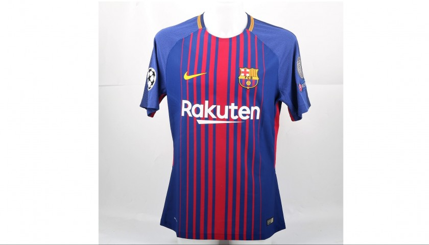 090db19d1 Messi Barcelona Match issued   worn Shirt