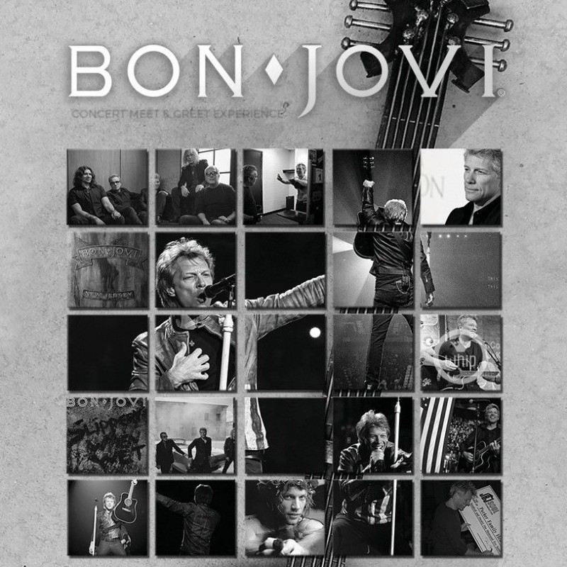 Meet Jon Bon Jovi at an Intimate Concert & Receive a Personalized Guitar