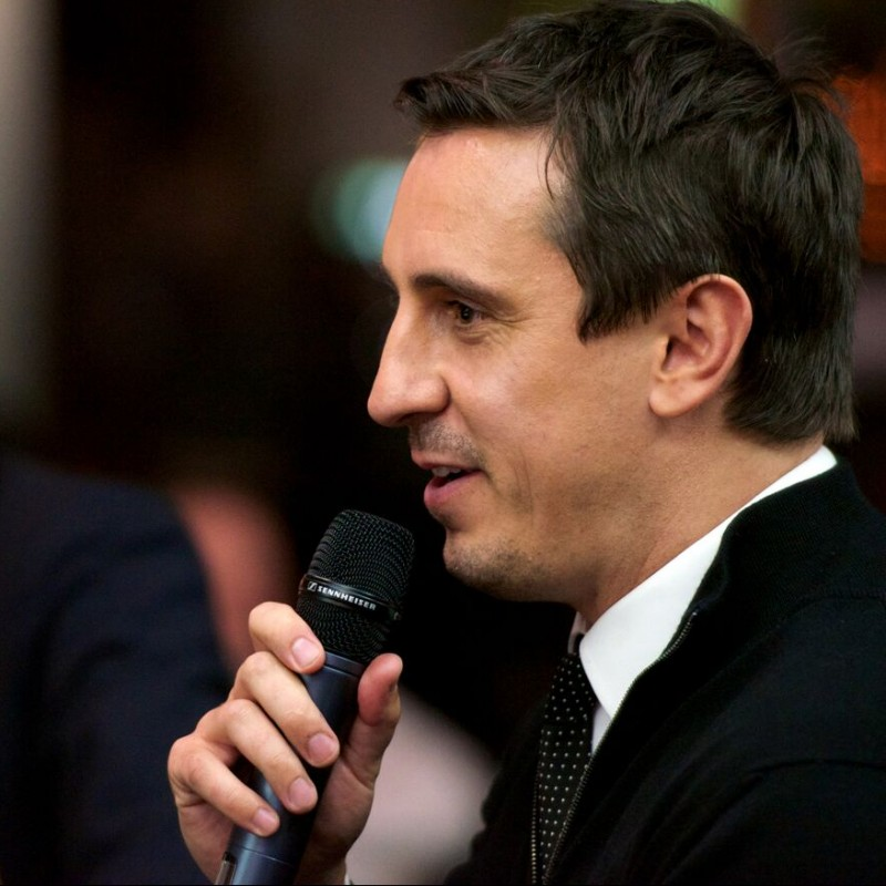 Join Gary Neville for Dinner at Cafe Football