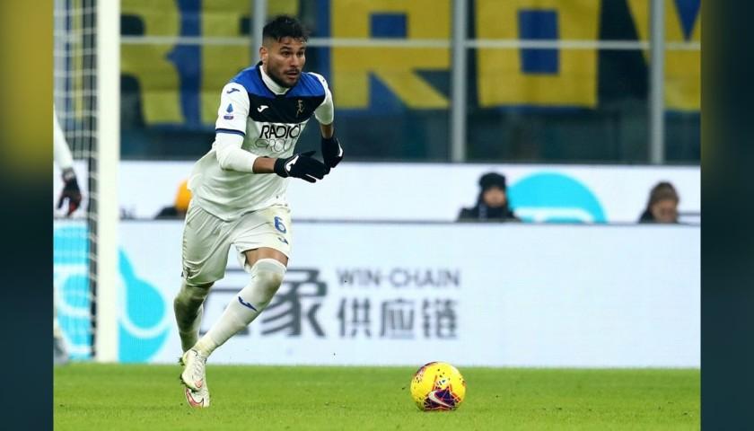 Palomino's Match-Issued Shirt, Hellas Verona-Atalanta 2020