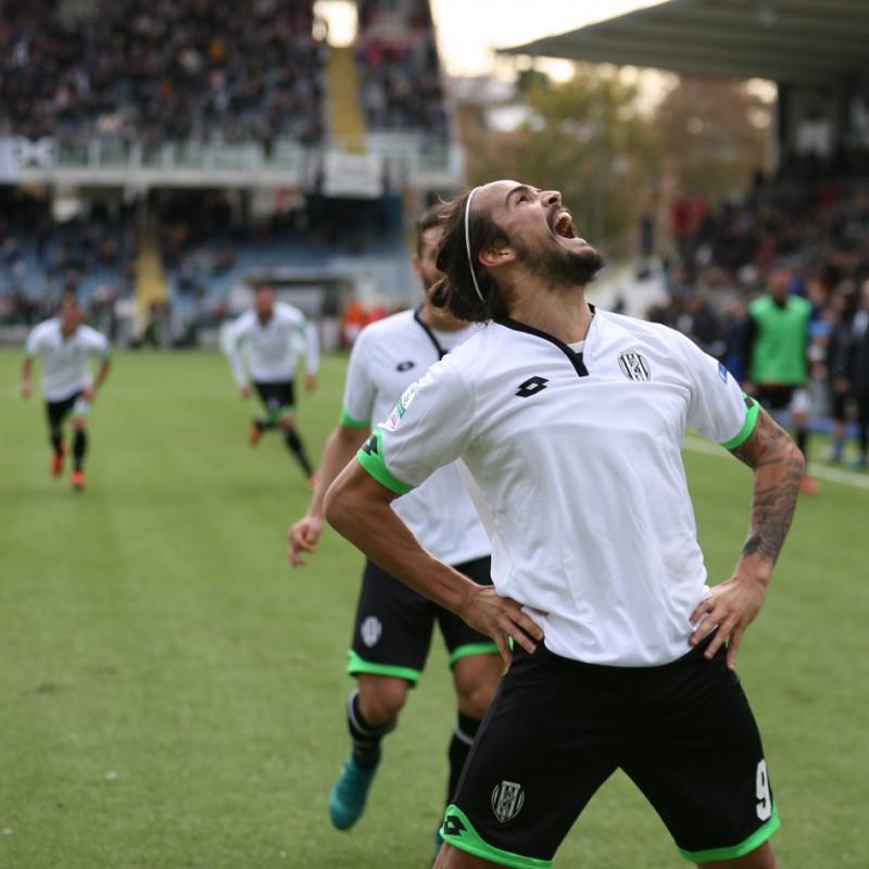 Rodriguez Match worn Shirt, Perugia-Cesena 23/01/2017
