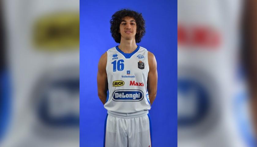 Completo da gara ufficiale De'Longhi Treviso Basket, indossato da Lorenzo Uglietti nella stagione 2019/20 in Serie A