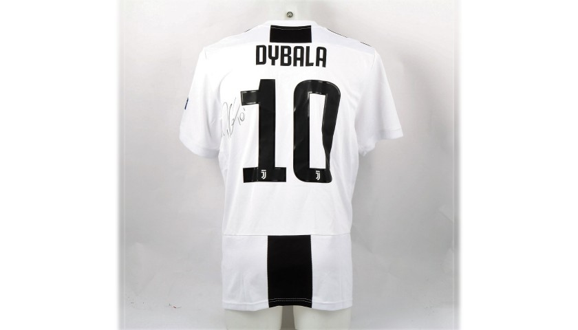 Dybala's Official Juventus 2018/19 Signed Shirt